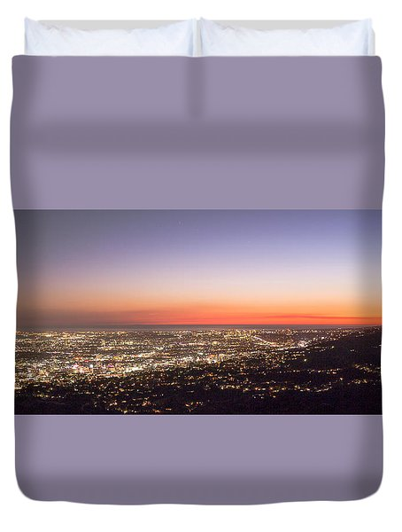 Californian Sunset Duvet Cover