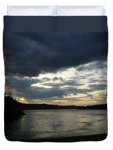 Call For Storms Later Duvet Cover by Skyler Tipton