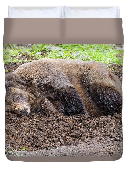 Call Later Duvet Cover