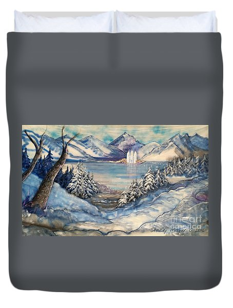 Call Of Eternal Spring Duvet Cover by Stacey Mayer