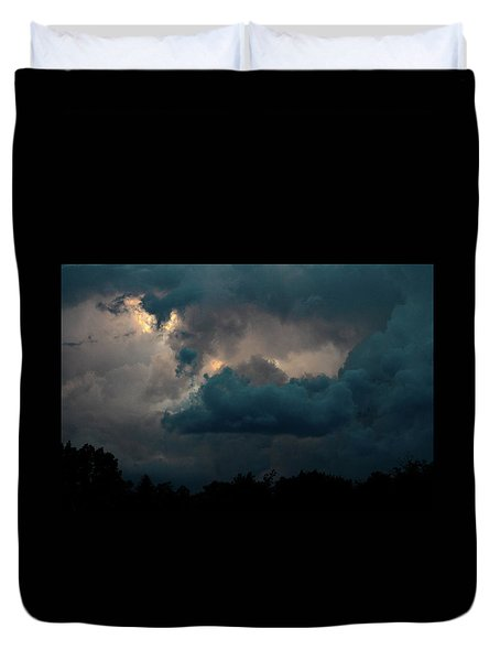 Duvet Cover featuring the photograph Call Of The Valkerie by Bruce Patrick Smith