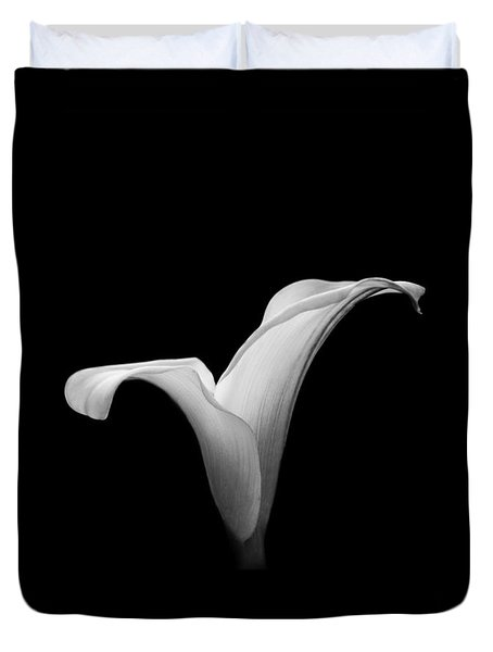 Duvet Cover featuring the photograph Calla Lily 2 by Clare Bambers