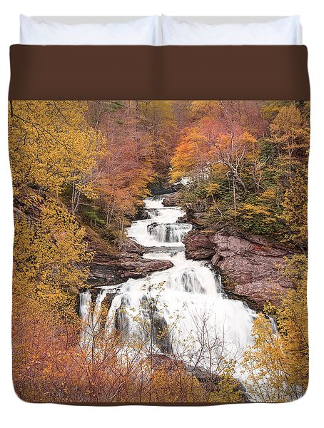 Callasaja Falls- North Carolina 2 Duvet Cover