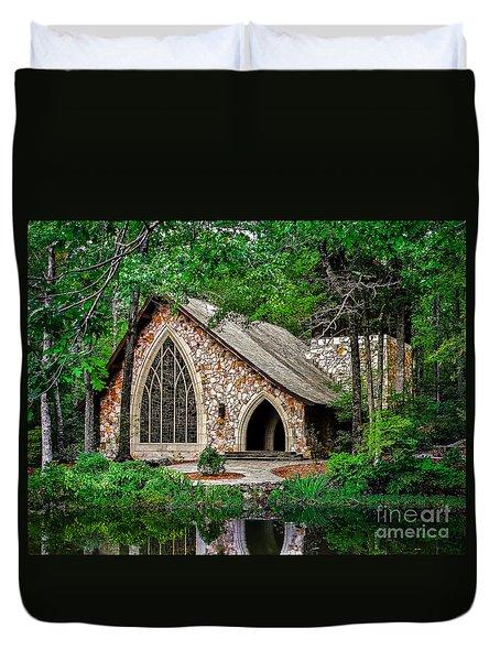 Callaway Gardens Chapel Duvet Cover