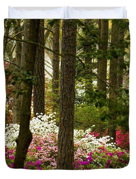 Callaway Gardens Spring Azaleas Duvet Cover