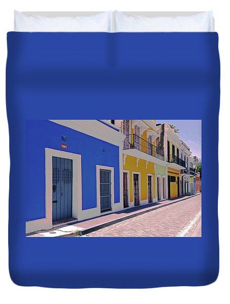 Calle Del Sol Duvet Cover