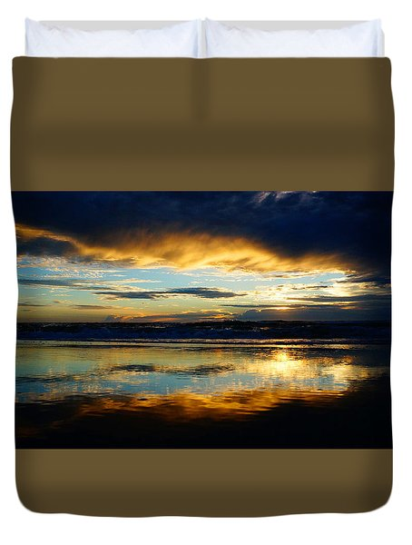 Calm After The Storm Duvet Cover