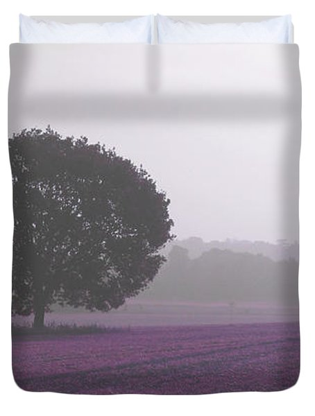 Calm Autumn Mist Duvet Cover