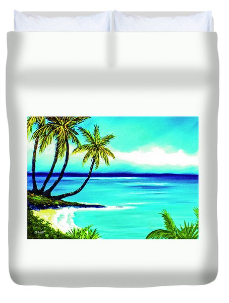 Calm Bay #53 Duvet Cover by Donald k Hall