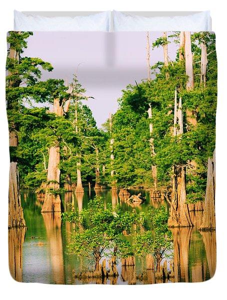 Calm Bayou Duvet Cover