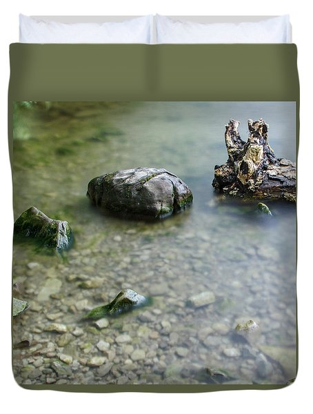 Calm Lake Duvet Cover