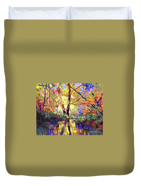 Calm Reflection Duvet Cover