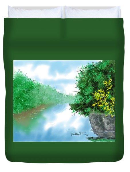 Calm River Duvet Cover