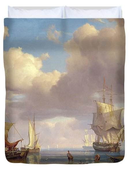 Calm Sea Duvet Cover by Adolf Vollmer