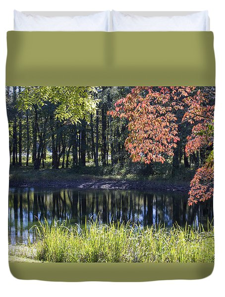 Calm Waters Duvet Cover by Ricky Dean