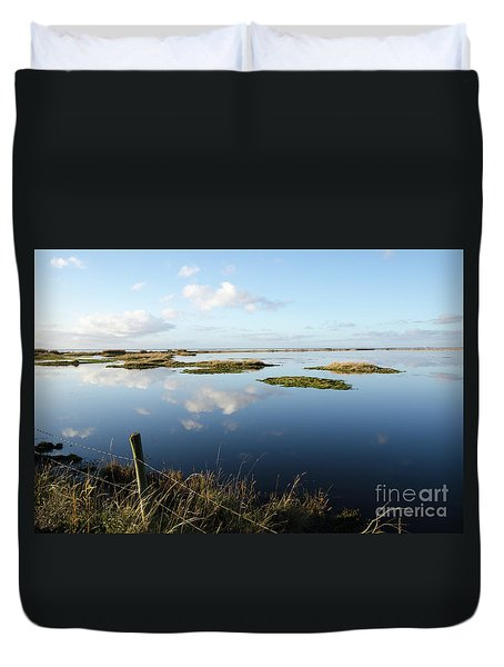 Calm Wetland Duvet Cover