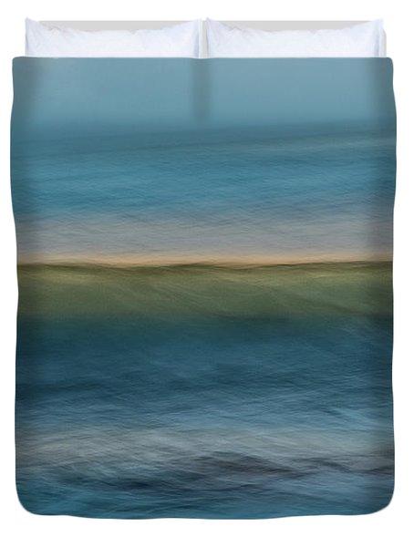 Calming Blue Duvet Cover