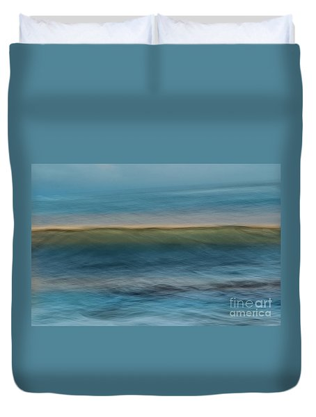 Calming Blue Duvet Cover