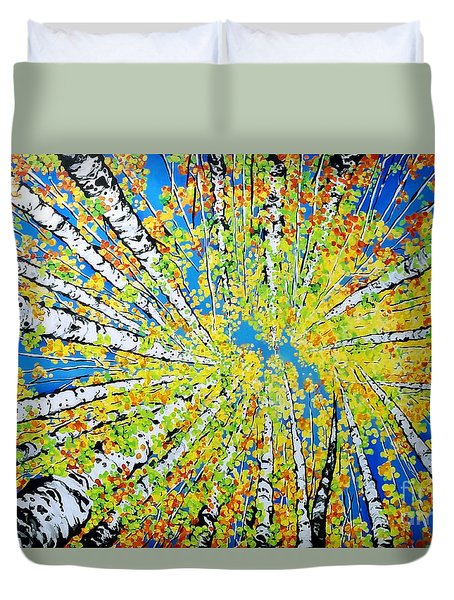 Calming Canopy Duvet Cover