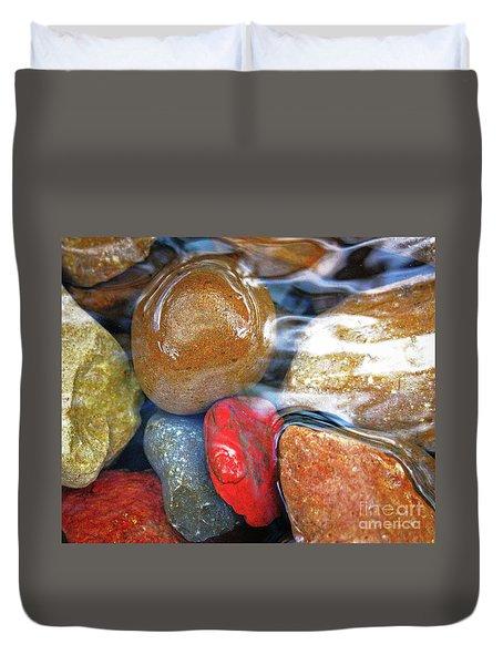 Calming Stones Duvet Cover
