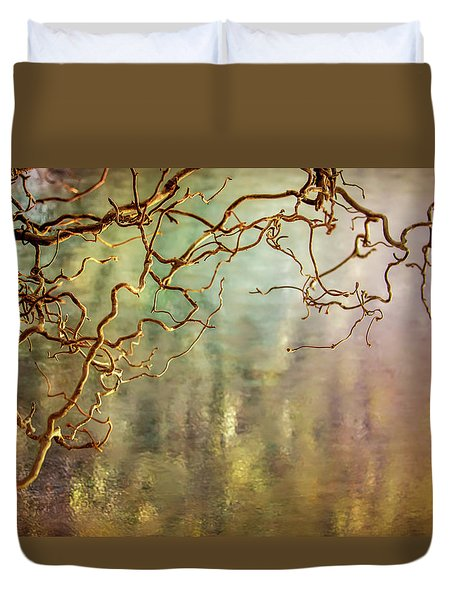 Calming Waters From Heaven Duvet Cover