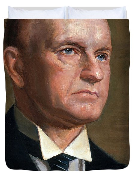 Calvin Coolidge Duvet Cover