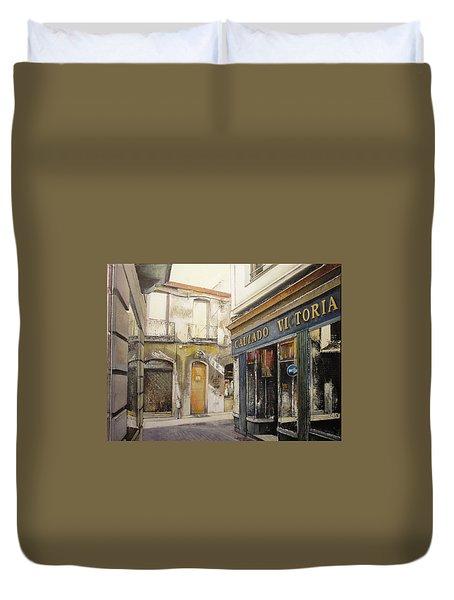 Calzados Victoria-leon Duvet Cover by Tomas Castano