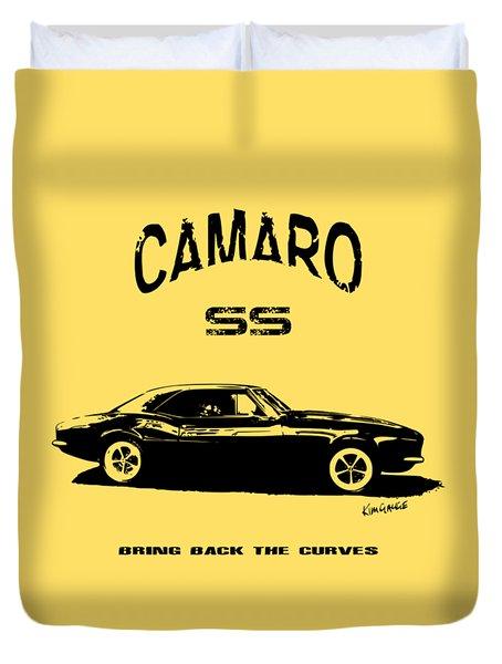 Camaro Ss V.2 Duvet Cover