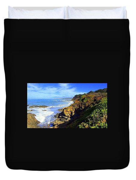 Cambria By The Sea Duvet Cover