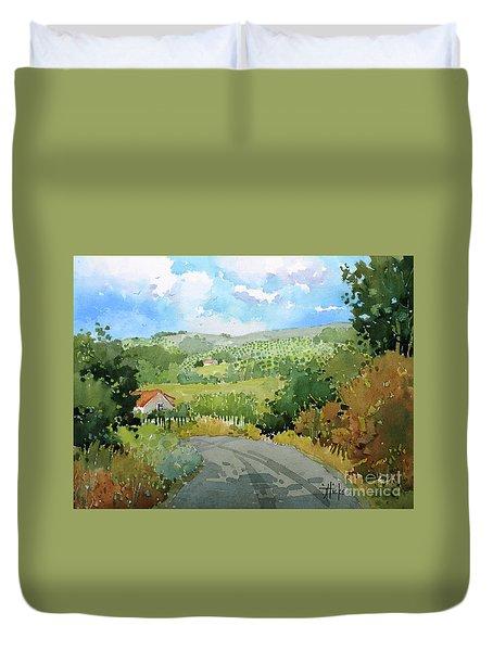 Cambria Countryside Duvet Cover