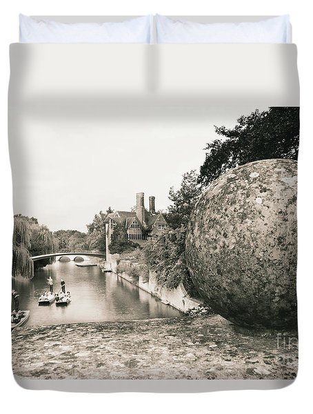 Cambridge Punting  Duvet Cover