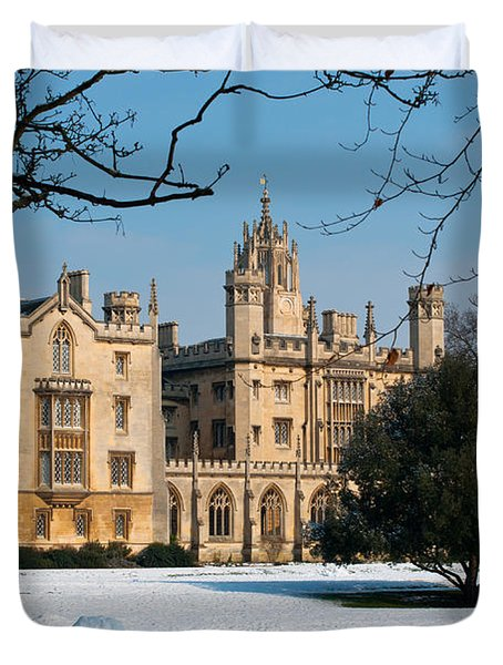 Cambridge Snowscape Duvet Cover