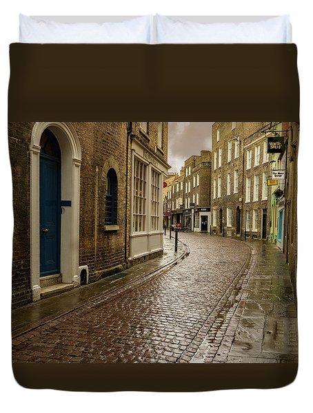 Cambridge Street Scene Duvet Cover