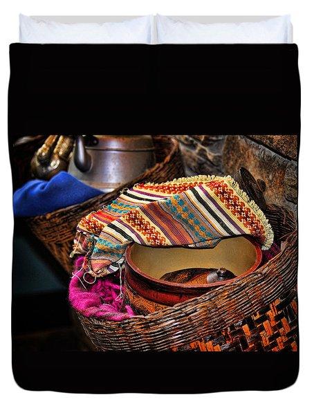 Camelback 8849 Duvet Cover by Sylvia Thornton