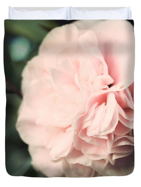Camellia Duvet Cover by Cindy Garber Iverson