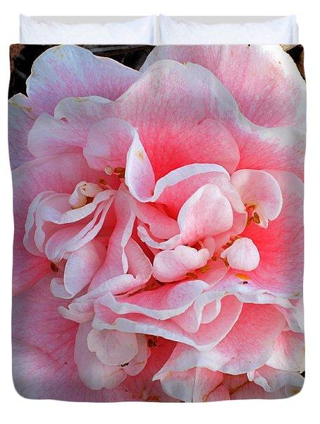 Camellia Flower Duvet Cover by Susanne Van Hulst