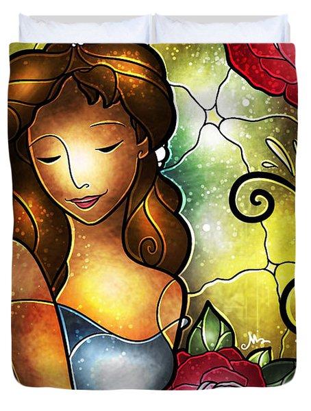 Lady Camellia Duvet Cover