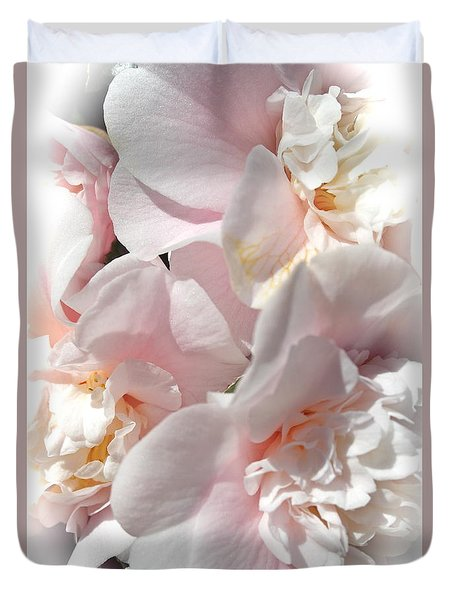 Camellias Softly Duvet Cover
