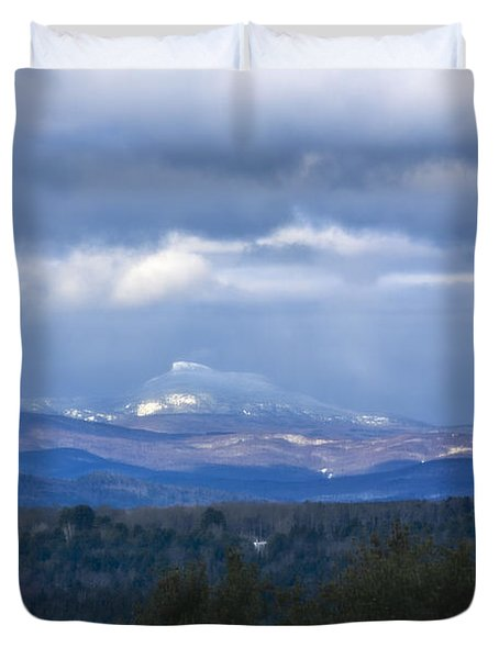 Camel's Hump Mountain  Duvet Cover by Diane Diederich