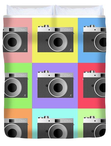 Camera 9 Duvet Cover