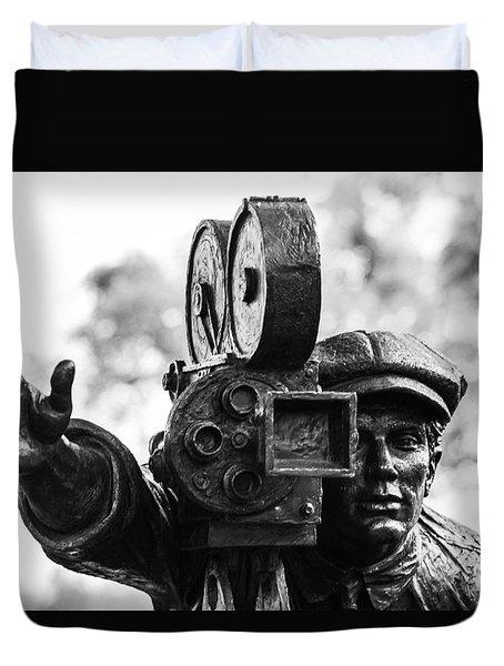 Camera Man - 1 Duvet Cover