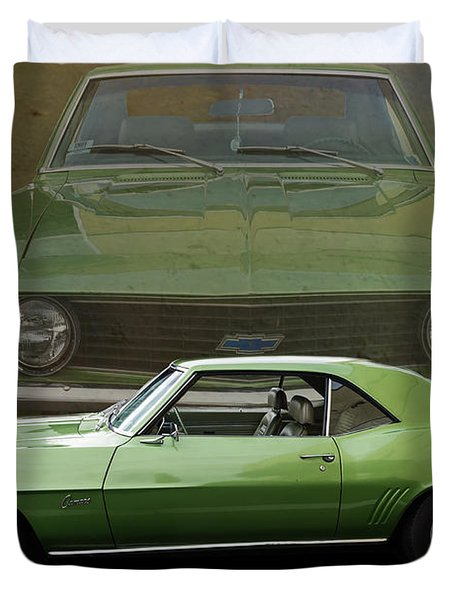 Camero Duvet Cover by Jim  Hatch