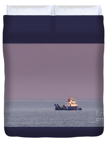 Cameron Duvet Cover by David  Hollingworth