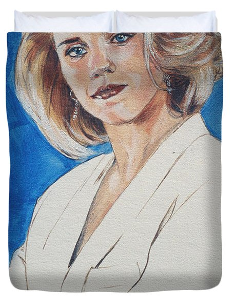 Cami Cooper Duvet Cover by Bryan Bustard