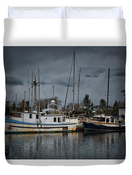 Duvet Cover featuring the photograph Camjim by Randy Hall