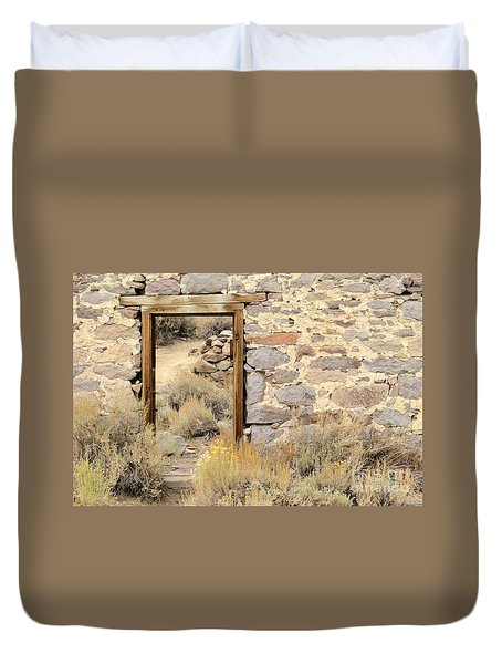 Doorway To Nowhere Duvet Cover