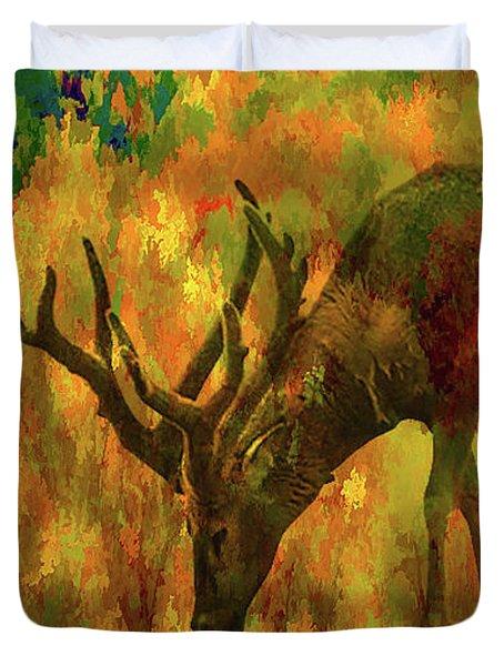 Camouflage Deer Duvet Cover