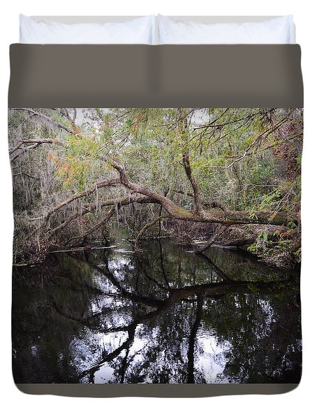 Camp Canal Duvet Cover