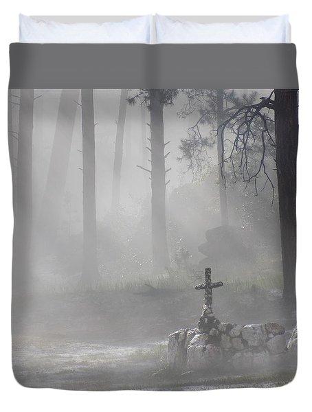 Camp Cross Duvet Cover