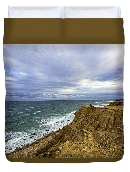 Camp Hero Bluffs Duvet Cover